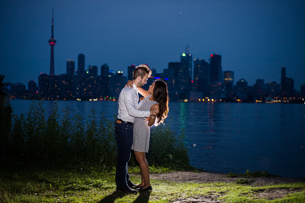 Toronto Island Engagement, Gillian Foster Photography