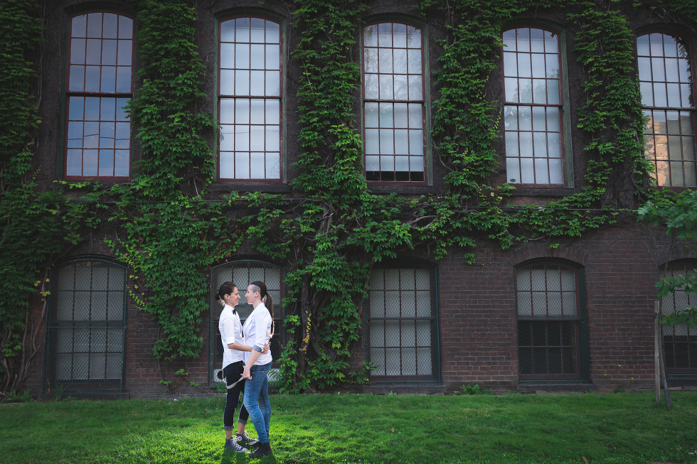 Urban Toronto Engagement, Gillian Foster Photography, Liberty Village