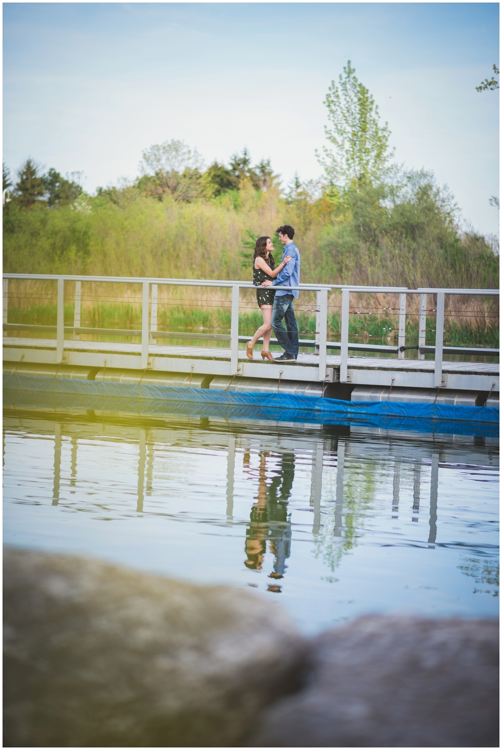 Humber Bay engagement session, Humber Bay park