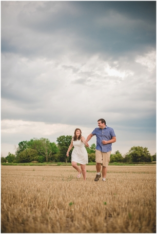 Farm engagement photos, Toronto wedding photographer