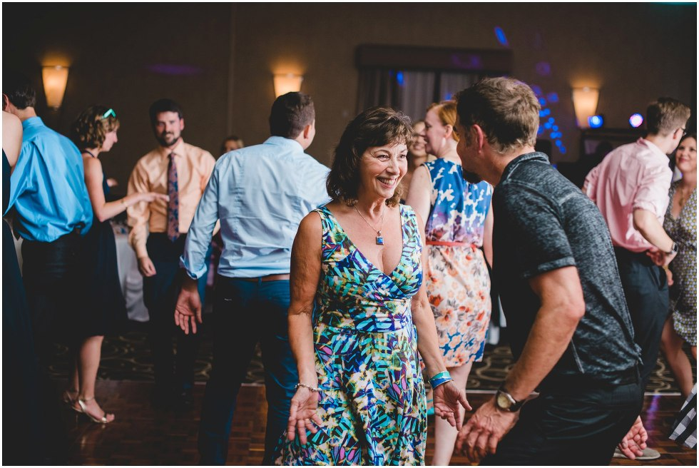 Guests dancing at the Delta Chelsea Guelph