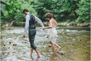 Goldie Mill Ruins wedding