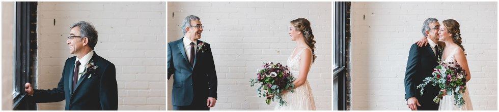 first look father and bride, toronto wedding photographer
