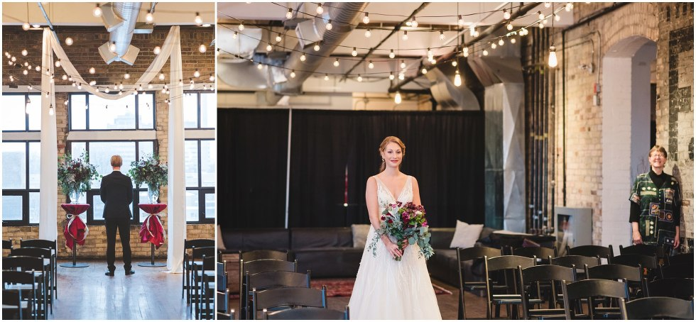 Toronto wedding photography, Burroughes Building winter wedding