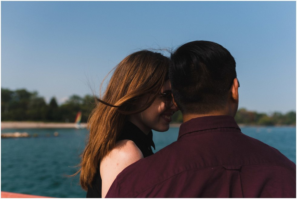 engagement photos toronto island, toronto wedding photographer