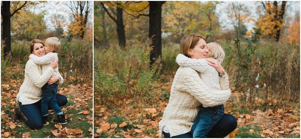 fall family session, toronto family photographer