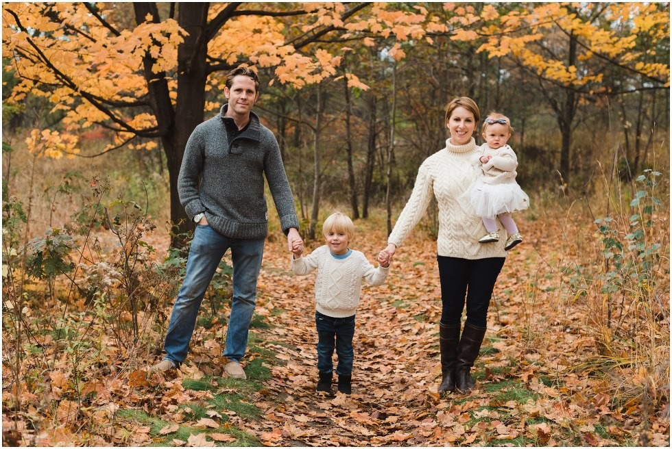 family holding hands, toronto family photographer