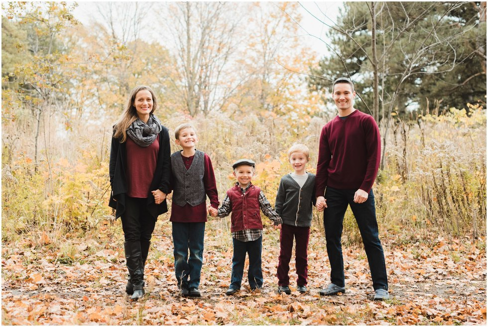 toronto family photographer, fall photography session