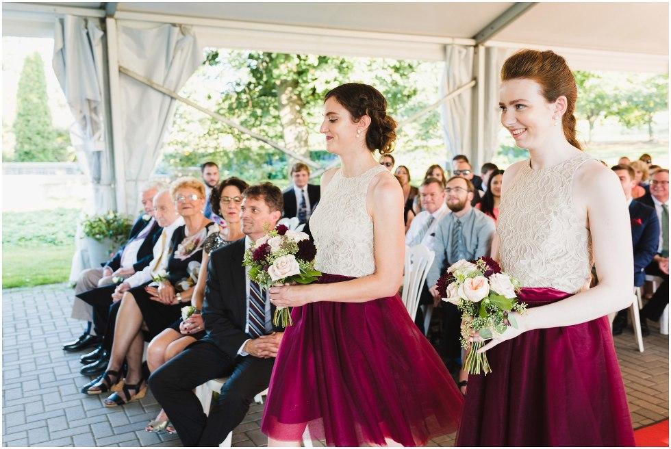 Royal botanical gardens wedding