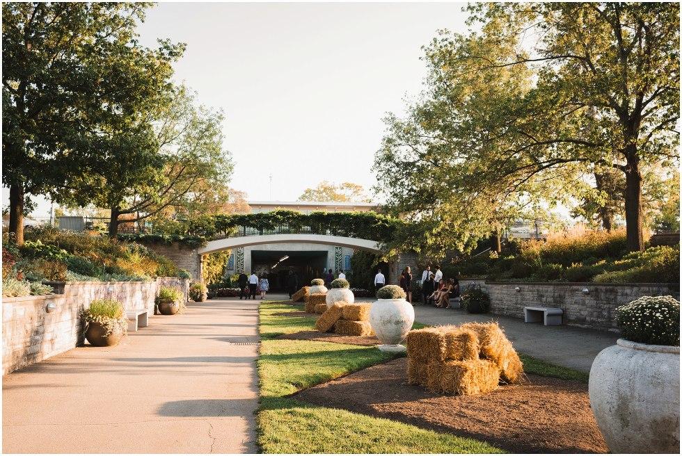 Royal botanical gardens wedding Toronto Gillian Foster