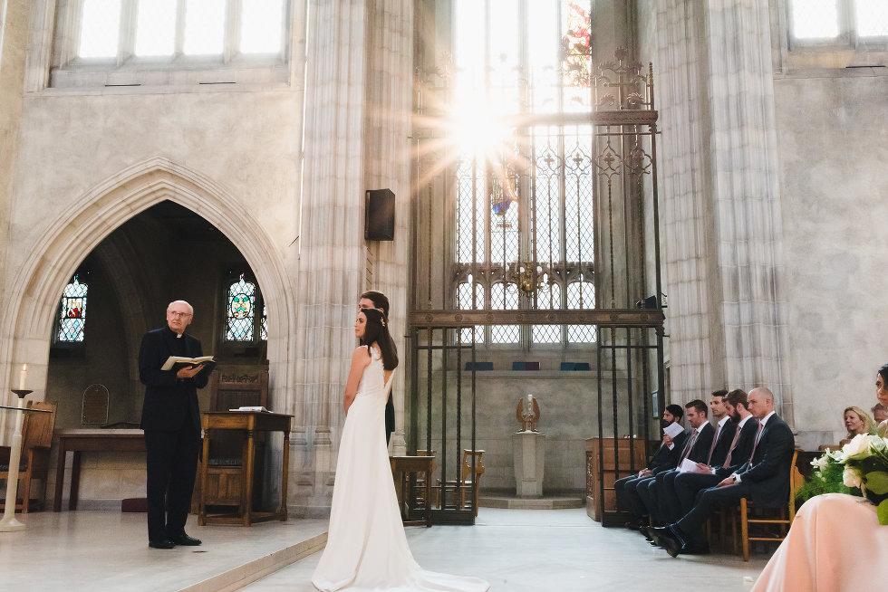 Trinity College chapel wedding, Toronto wedding photographer