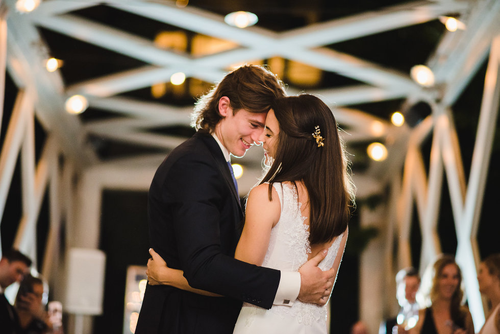 bride and grooms first dance Toronto wedding photography Collette Grand Cafe
