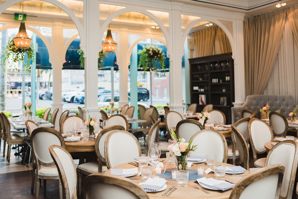 Collette Grand Cafe Creates a Parisian Setting for a Wedding in Toronto