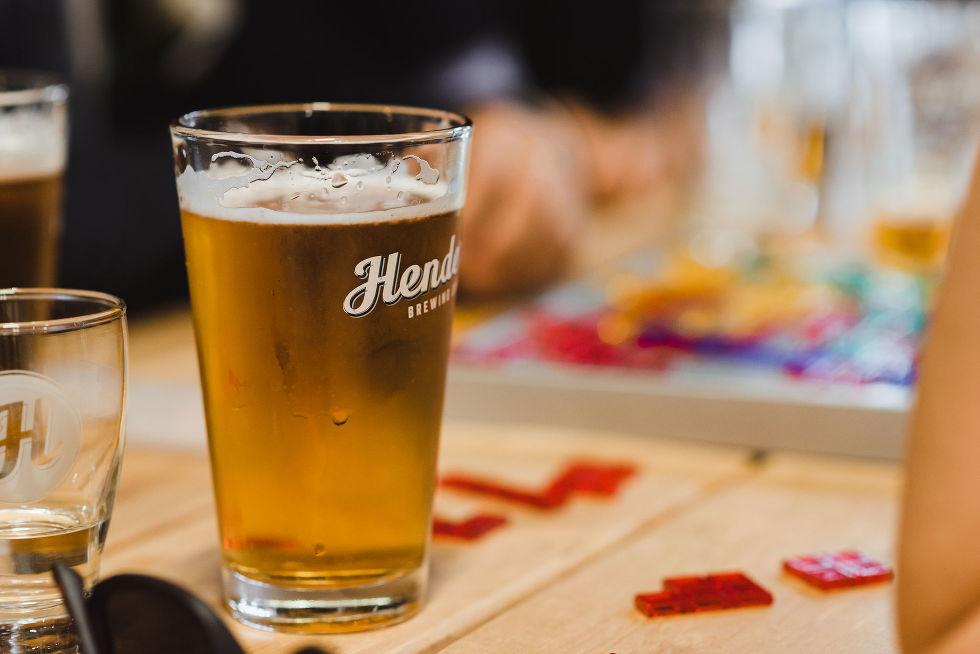 pint of beer at Henderson