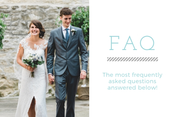 FAQ for toronto wedding photographer, how long have you been a professional photographer?